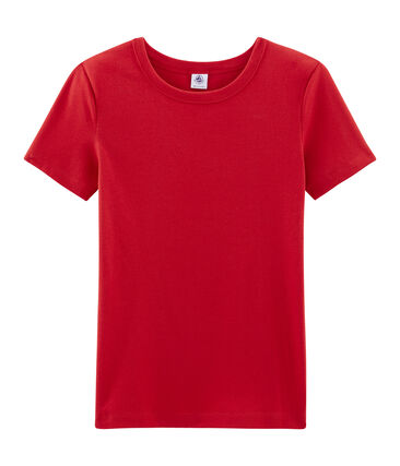 Tee shirt manches courtes iconique femme