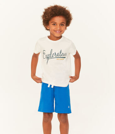 Bermuda enfant garçon bleu Riyadh