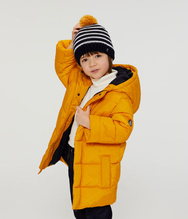 Doudoune enfant garçon jaune Boudor