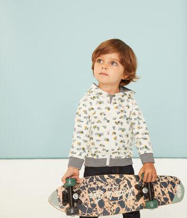 Sweatshirt à capuche zippé bébé garçon imprimé