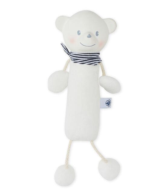 Doudou ours blanc Ecume
