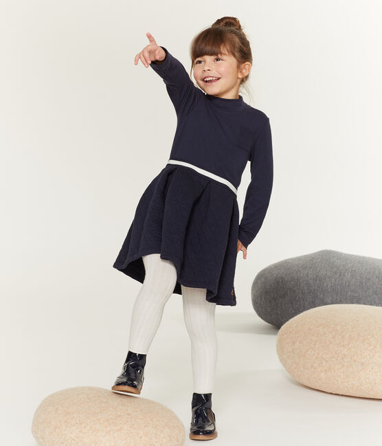 Robe col roulé enfant fille SMOKING