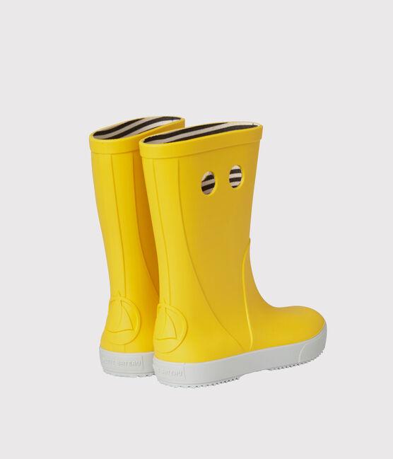 Bottes de pluie jaune Jaune
