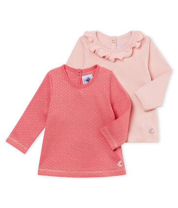 Lot de deux blouses bébé fille