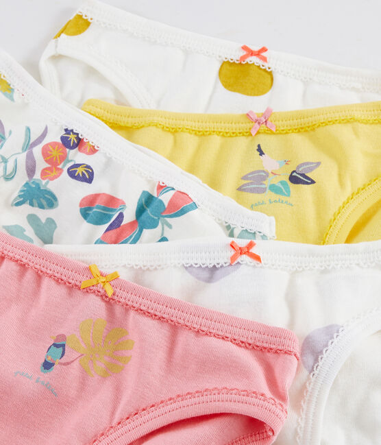 Lot de 5 culottes imprimé jungle petite fille lot .