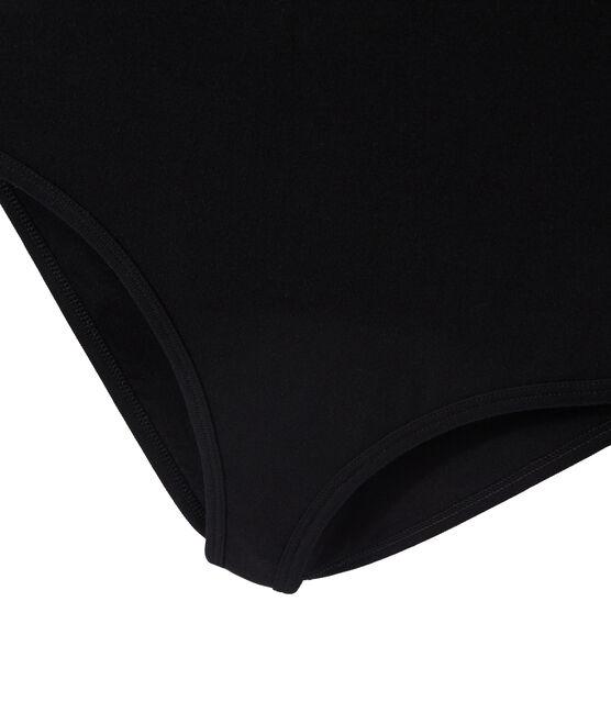 Body femme BODYCONIQUE en coton noir Noir