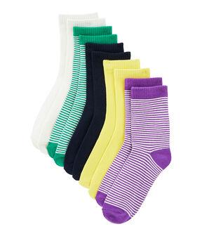 Lot de 5 paires de chaussettes enfant lot .