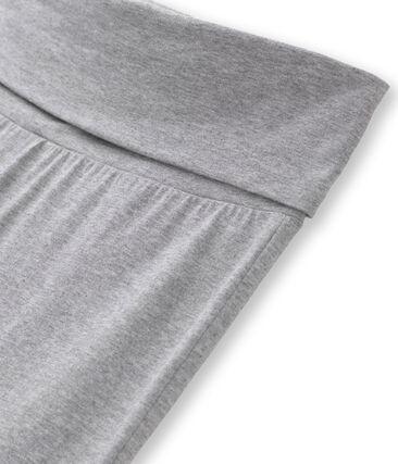 Pantalon danseuse femme en jersey lycra uni