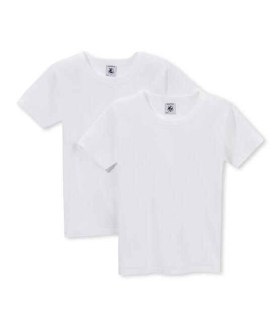 Duo de tee-shirts manches courtes garçon lot .