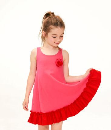Robe enfant fille rouge Geisha