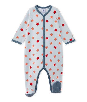 Dors bien bébé garçon imprimé étoiles