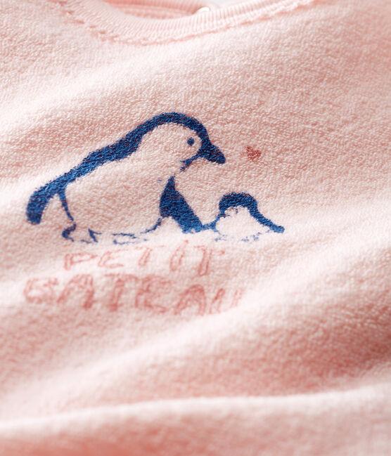Dors bien bébé fille en bouclette éponge grattée extra chaude MINOIS