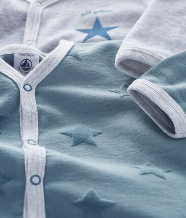 Lot de 2 dors-bien bébé en jersey et velours lot .
