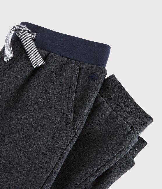 Pantalon molleton enfant garçon gris City Chine