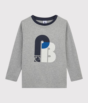 Tee-shirt sérigraphié enfant garçon gris Subway