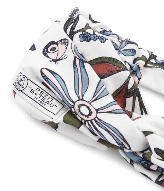 Bandeau femme blanc Marshmallow / blanc Multico