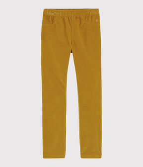 Pantalon velours enfant fille TOPAZE