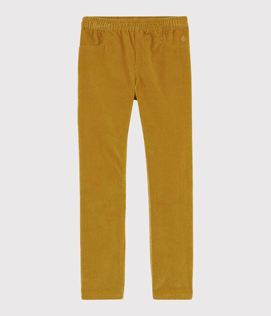 Pantalon velours enfant fille TOPAZE