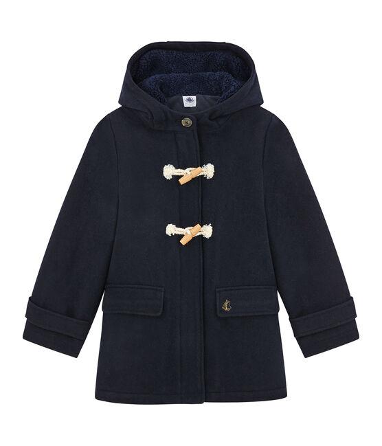 Duffle coat enfant fille bleu Smoking