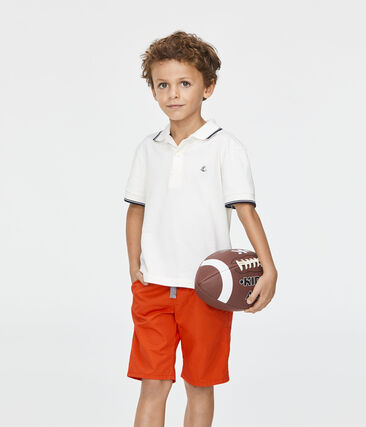 Bermuda enfant garçon rouge Terkuit