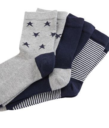 Lot de 3 paires de chaussettes enfant garçon
