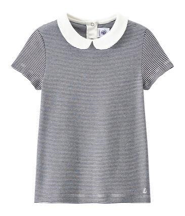 T-shirt fille rayé