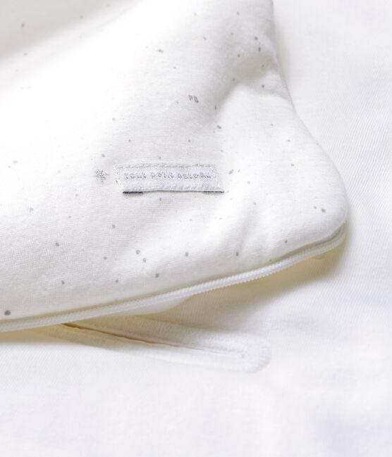 Nid d'ange bébé en tubique blanc Marshmallow