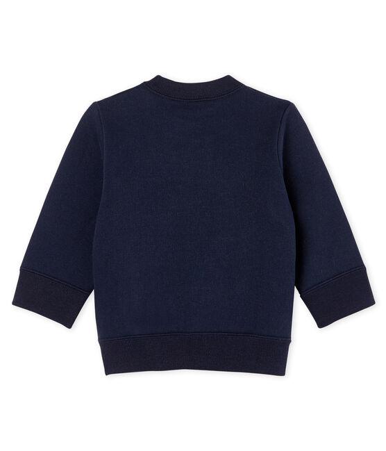 Sweatshirt bébé garçon en molleton SMOKING