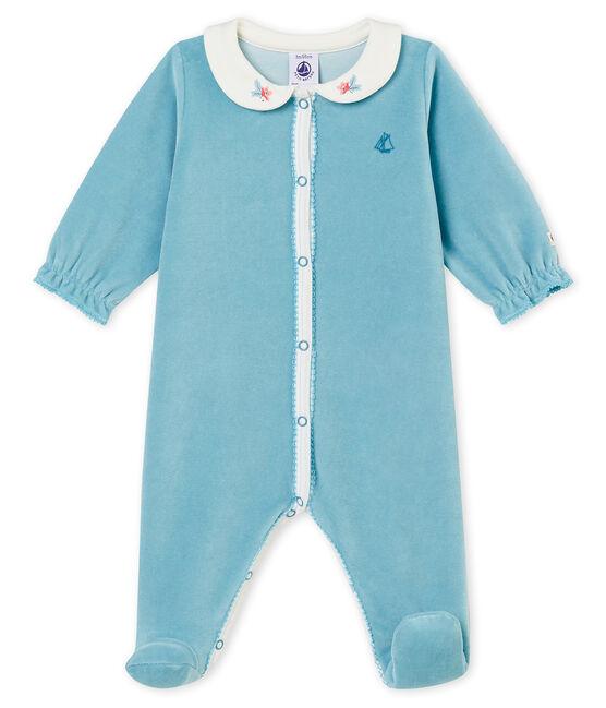 Dors bien bébé fille bleu Mimi