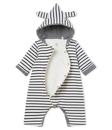 Combinaison longue à capuche bébé mixte