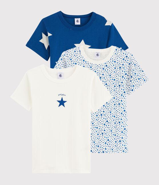 Lot de 3 tee-shirts manches courtes étoiles petit garçon lot .