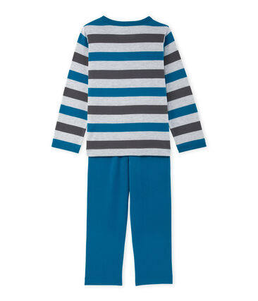 Pyjama garçon en jersey rayé
