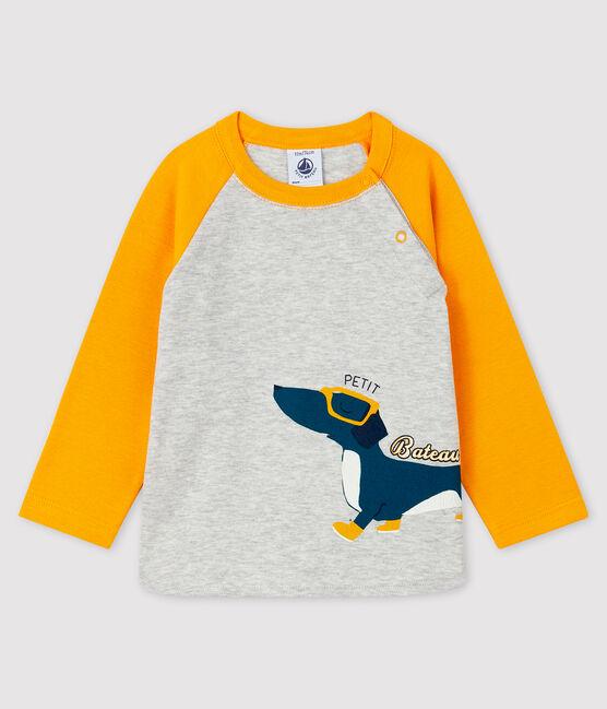 Tee-shirt bébé garçon BELUGA/BOUDOR