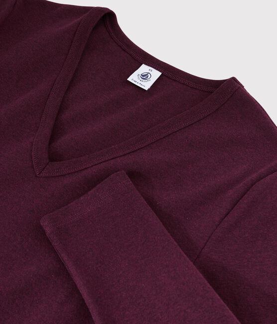T-shirt iconique col V Femme ALIVE