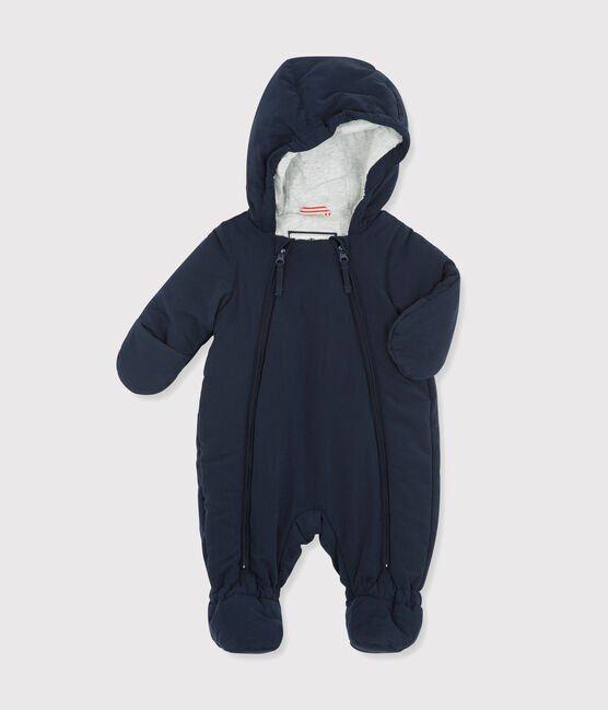 Combipilote en microfibre bébé fille/garçon bleu Abysse