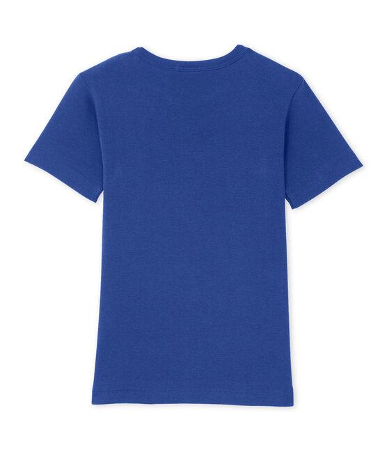 T-shirt garçon à motif bleu Peter