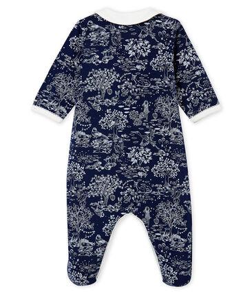 Dors bien bébé fille bleu Smoking / blanc Ecume