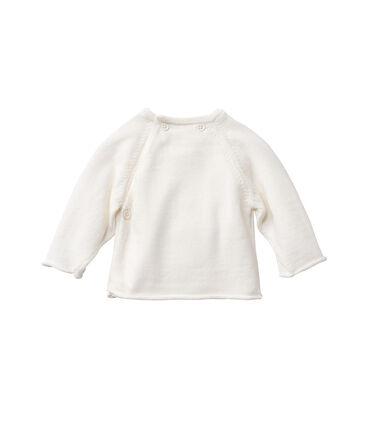 Brassière bébé en laine et coton