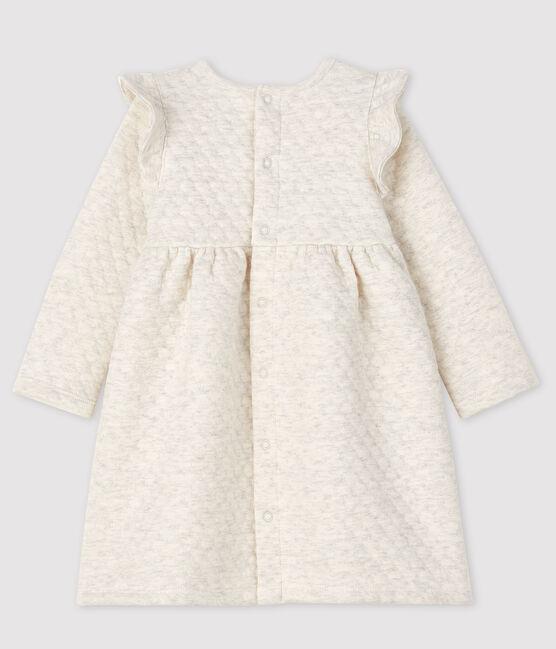 Robe manches longues bébé fille gris Montelimar Chine