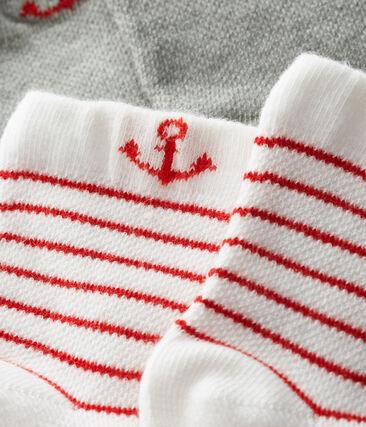 Lot de 2 paires de chaussettes légères bébé garçon lot .