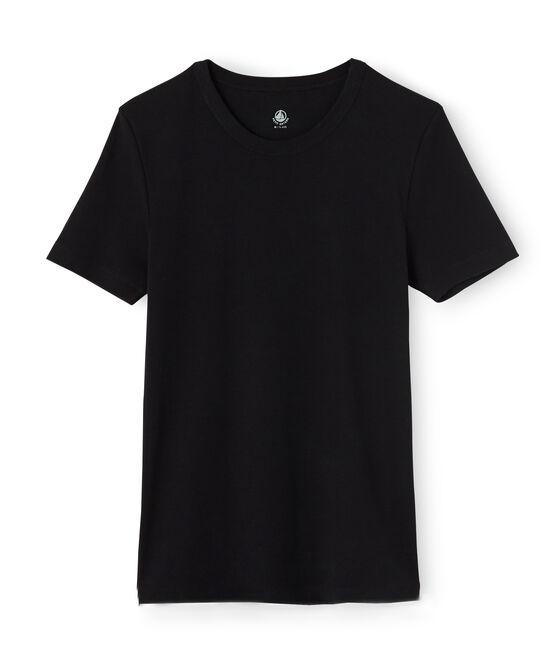 Tee shirt manches courtes iconique homme noir Noir