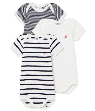 Trio de bodies manches courtes bébé