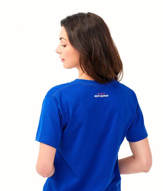 Tee shirt unisexe bleu Surf