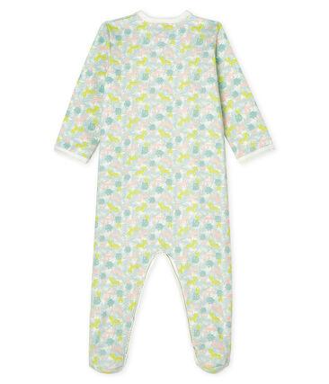 Dors Bien bébé fille en molleton blanc Marshmallow / blanc Multico