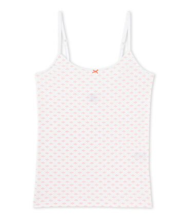 Chemise à bretelles ado fille imprimée