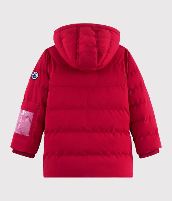 Doudoune de ski enfant garçon/fille rouge Terkuit