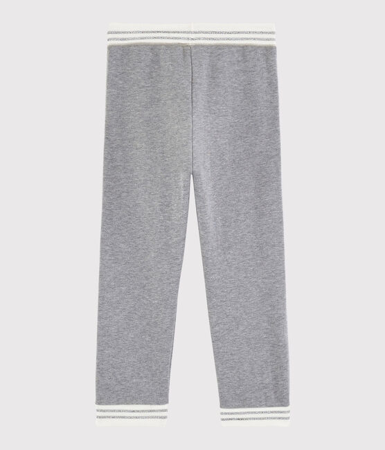 Pantalon de sport enfant fille gris Subway