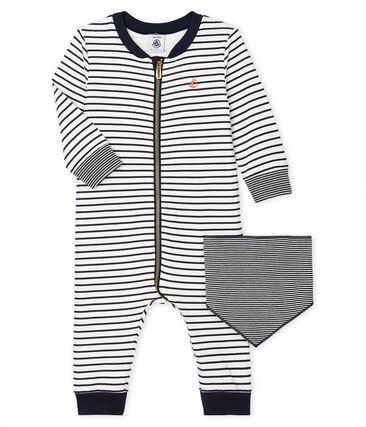 Combinaison longue zippée bébé garçon lot .
