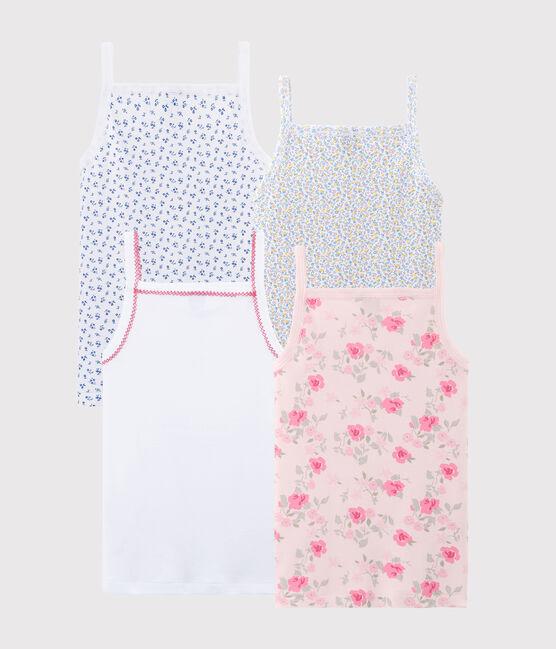 Pochette surprise de 4 chemises à bretelles fille lot .