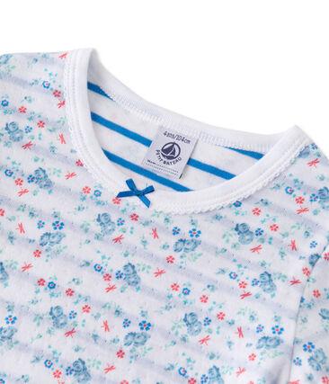 Pyjama fille en tubique réversible
